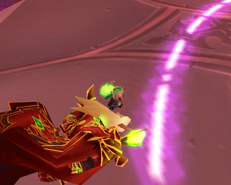 October - Bash storms into Tempest Keep (get it?) and tells Kael'thas who's boss!